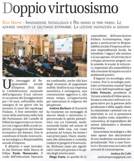 Friuli Business ottobre 2016