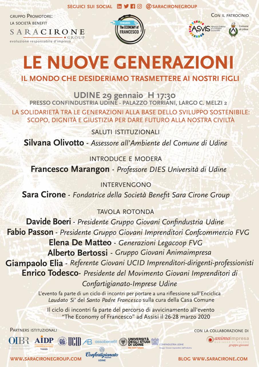 Locandina evento Udine - Per il Bene Comune (6)